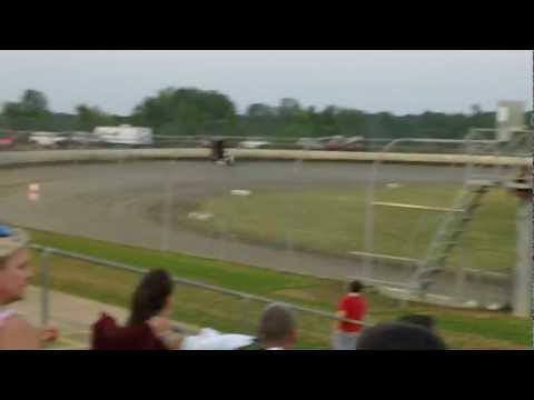 Billy Moyer Qualifying at Magnolia Motor Speedway 2012 Spring Throwdown