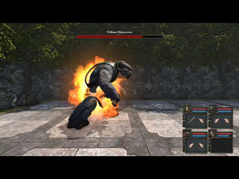 видео: legend of  grimrock 2 урок 6 босс fight и сундук в лесу