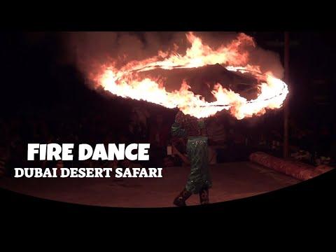 Dubai desert safari fire dance || Fire dance at Dubai desert safari camp || Dubai Desert Safari