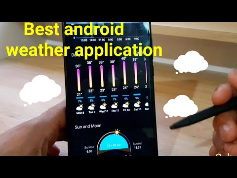 Best Android Weather Application Weawow