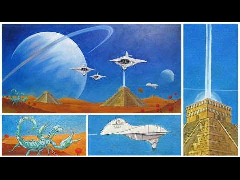 Art Lesson: How to Paint a Sci Fi Space Craft