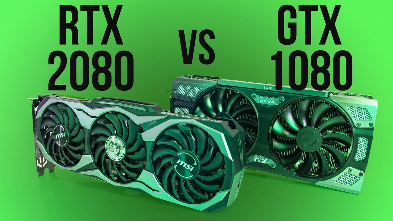 Nvidia RTX 2080 vs GTX 1080 - Benchmarks & Comparisons