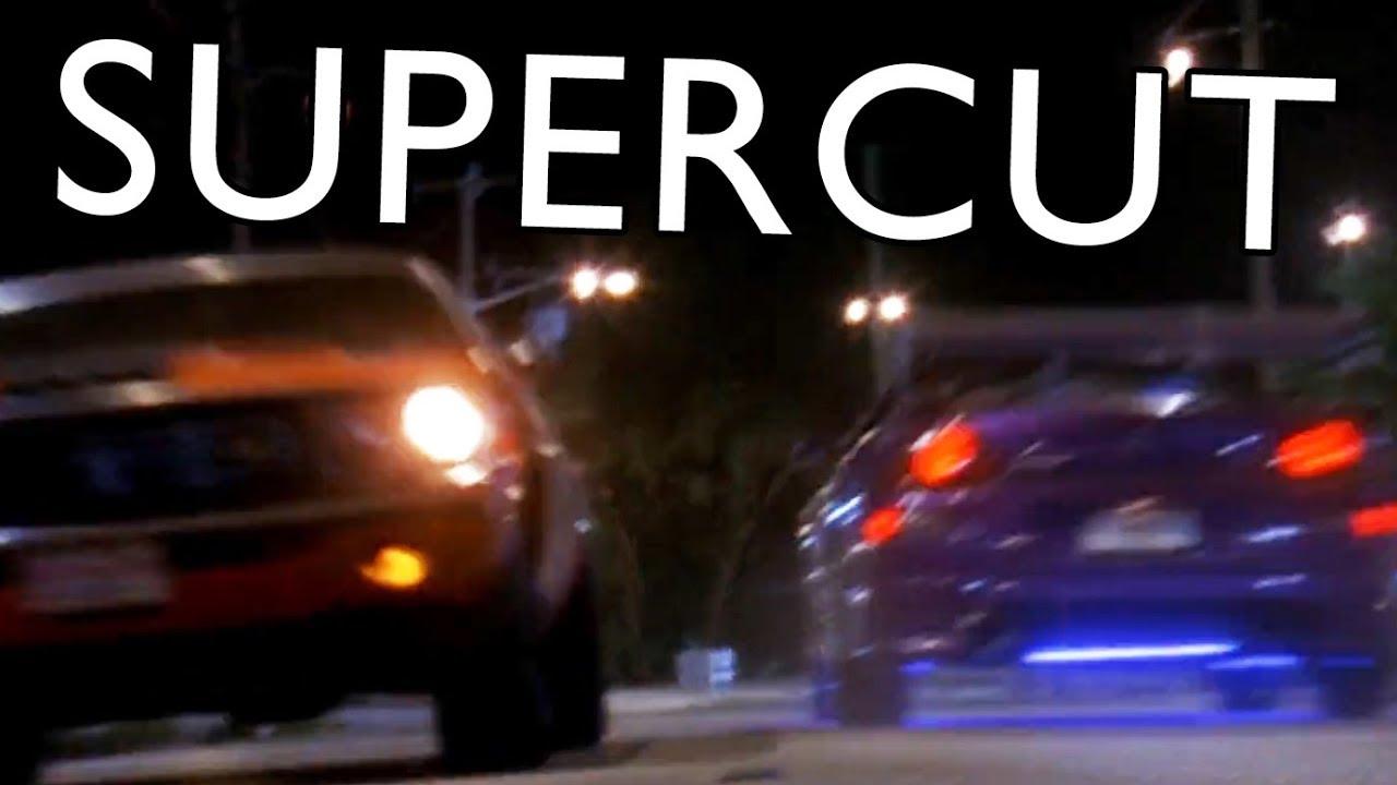 (April Fools) 2 Fast 2 Furious - Eclipse & Evo vs. Challenger & Camaro [SUPERCUT]