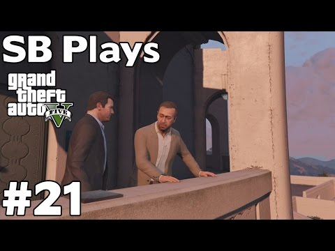 Dave Norton and the Federal Investigation Bureau [Michael] - SB Plays GTAV [ep21]