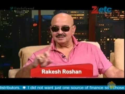 Rakesh Roshan with Komal Nahta