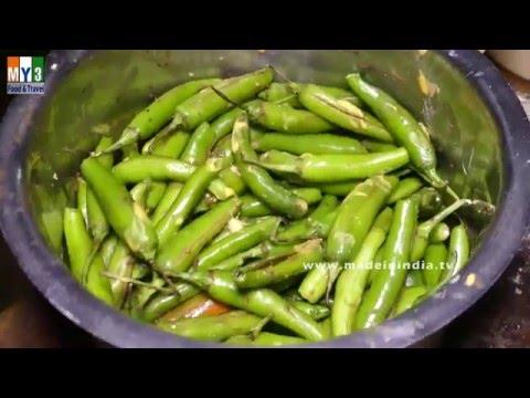 FAMOUS INDIAN BREAKFAST STREET FOODS | STREET FOODS IN INDIA | 4K VIDEO | Mirchi Bajji
