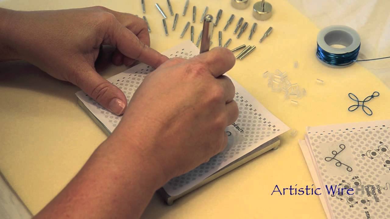 Artistic Wire Jig Kit - YouTube