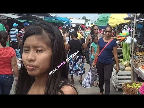 Shopping at Parika market East Bank Essequibo l Real Nice Guyana (HD)