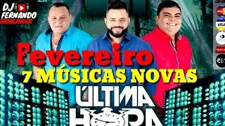 BANDA ÚLTIMA HORA 7 MÚSICAS NOVAS FEVEREIRO 2019