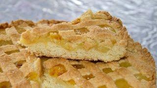 Песочно лимонный пирог. Время готовить.