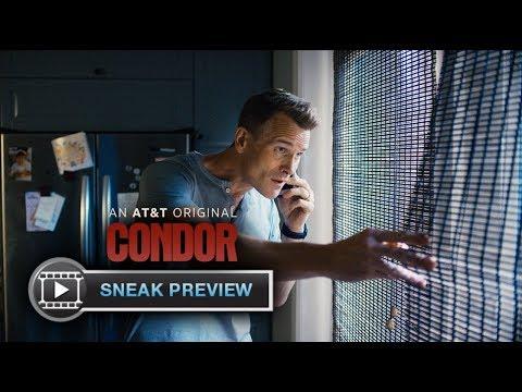 CONDOR Exclusive Sneak Peek  Brendan Fraser, Max Irons, Mira Sorvino  AT&T AUDIENCE Network