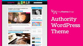 Authority WordPress Theme Endorsed by Matthew Woodward