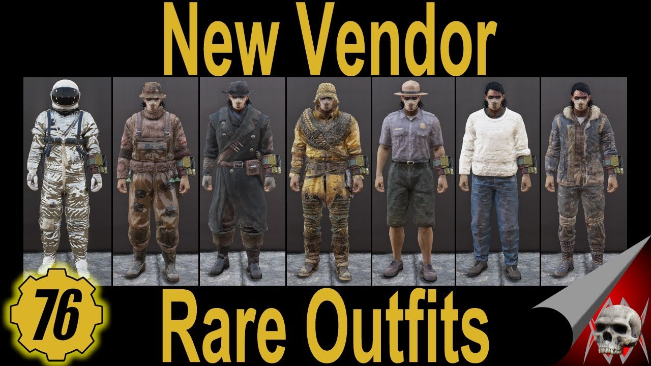FALLOUT 6 Rare Outfits for Ally New Vendor