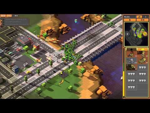 8 bit Armies Mission 3: Steel Crush All Objectives  