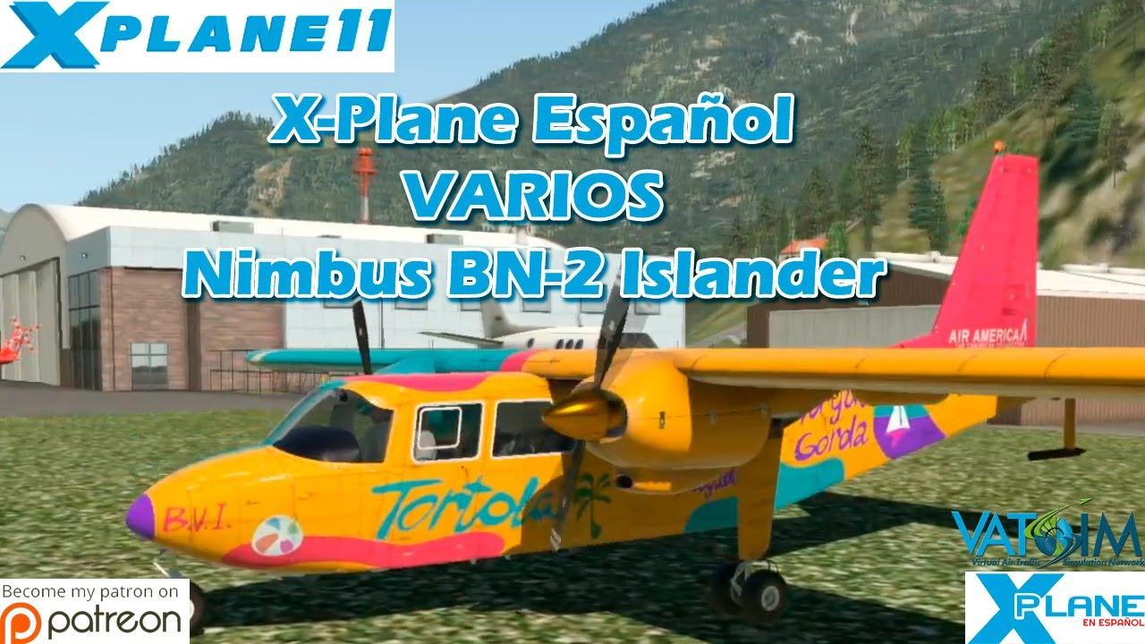 X-Plane Español   Varios   Nimbus BN-2 Islander