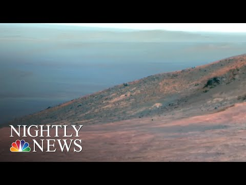 NASA Ends 15-year 'Opportunity' Mission On Mars After Losing Contact | NBC Nightly News