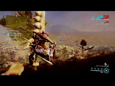 PS4 Warframe Sleds Of Sunshine Trophy (500m slide)