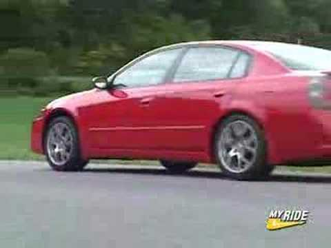 Review: 2005 Nissan Altima SE R   YouTube
