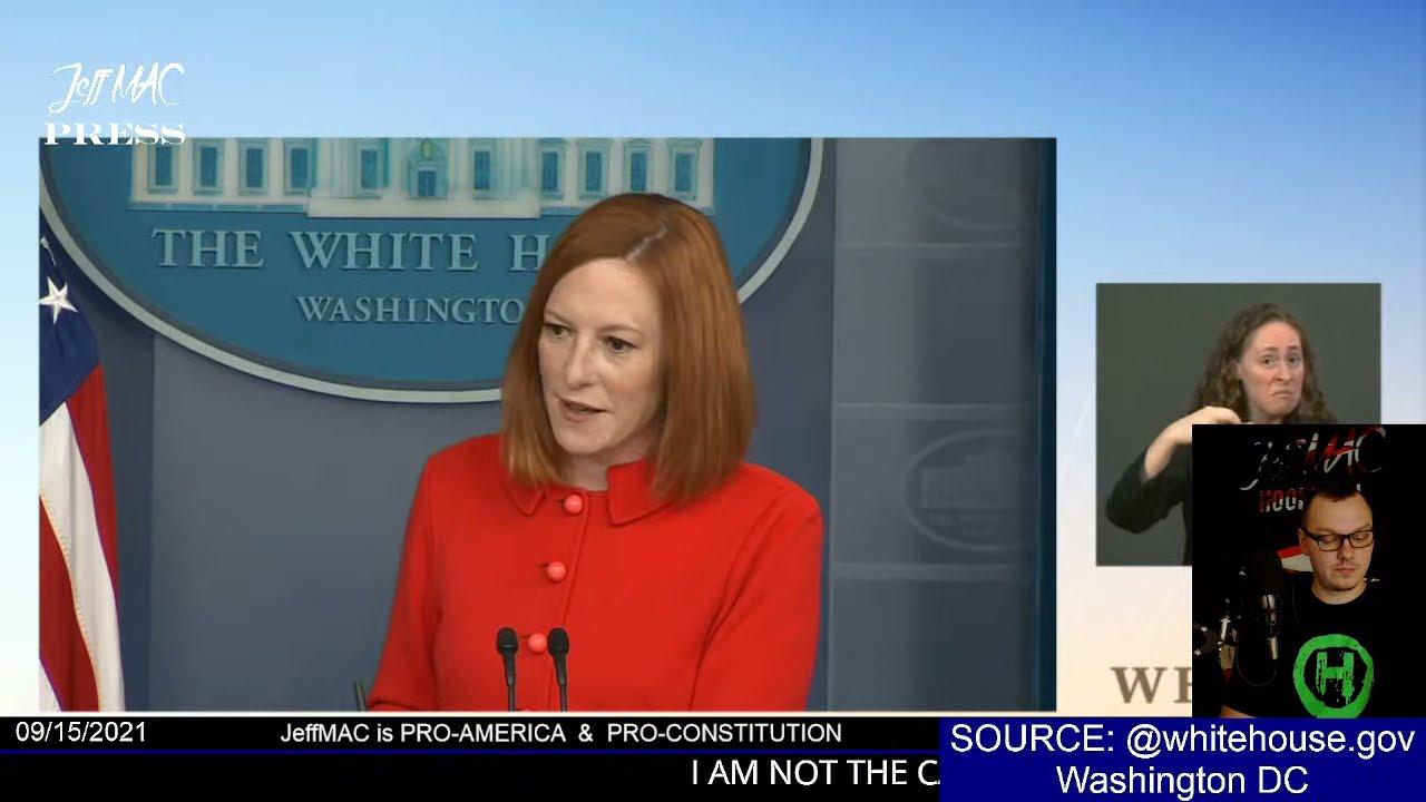 LIVE: White House Press Briefing by Press Secretary Jen Psaki | Washington DC | USA |
