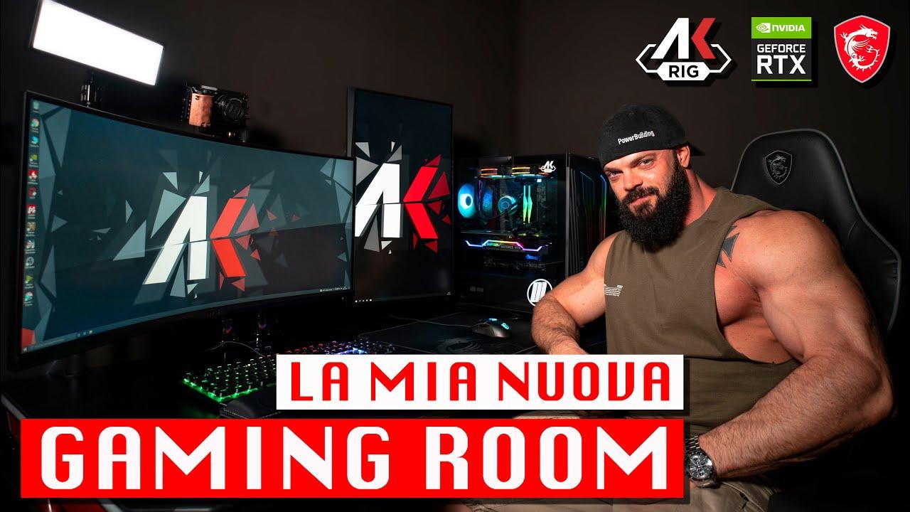 GAMING ROOM | set up gaming e streaming