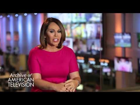 Maria Elena Salinas discusses working at KMEX in Los Angeles- EMMYTVLEGENDS.ORG