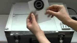 Процесс изготовления печатей из фотополимера
