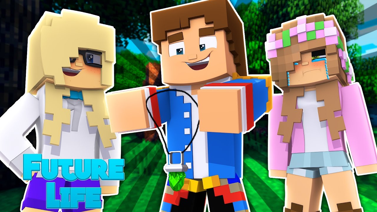 LITTLE DONNY IS CHEATING ON ME !! | Minecraft Future Life w/LittleKelly