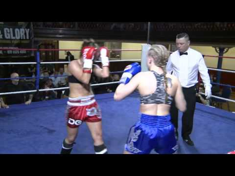 Anett Ambrus Diesel Gym vs Sara Day Double K Gym - KO Blood and Glory 6