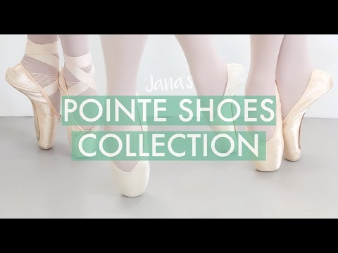 My Pointe Shoes Collection
