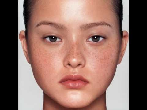 Morphing to Asian Woman 2: Adriana Lima to Devon Aoki