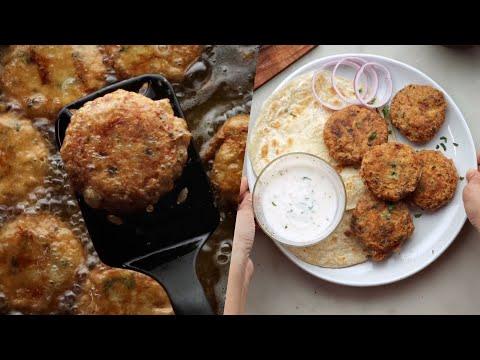 Yummy Chicken Resha Kabab Recipe