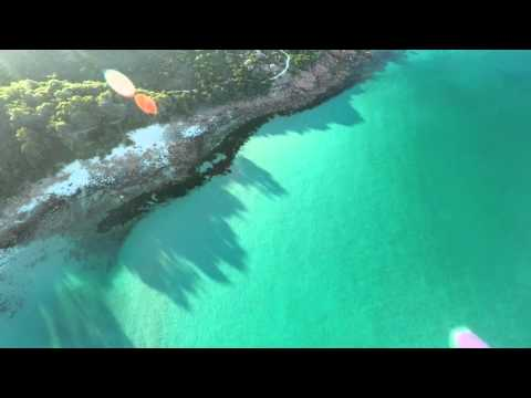 Castle Rock beach Western Australia from above - 3DR Solo drone flight