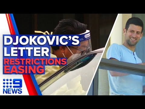 Djokovic says his intentions were misconstrued | 9 News Australia thumbnail