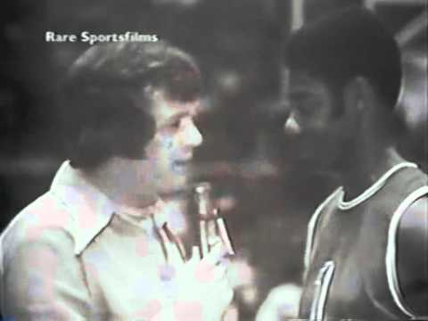 Hot Rod Hundley Interviews Oscar Robertson NBA-ABA All Star Game 1972