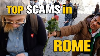 5 Tourist Traps / SCAMS in ROME, ITALY