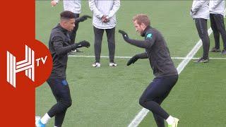 England stars train ahead of Kosovo clash in Southampton