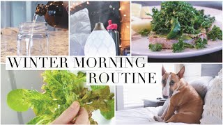 my-peaceful-winter-morning-routine