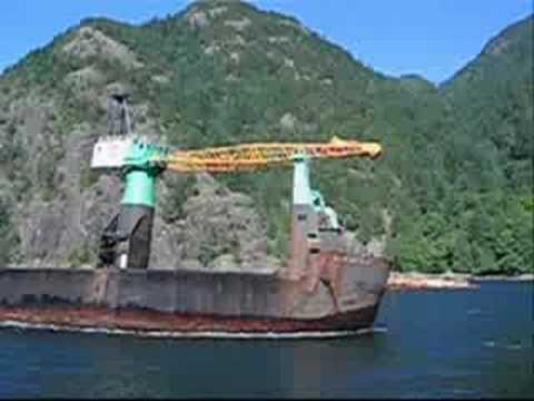Log Barge Dump