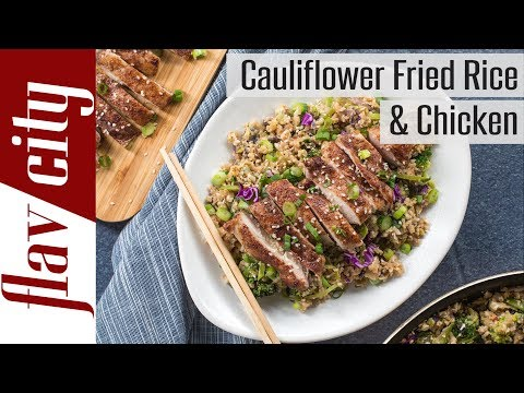 My ULTIMATE Cauliflower Fried Rice & Chicken Keto & Low Carb
