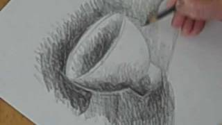 Draw and Shade A Bowl With Pencil