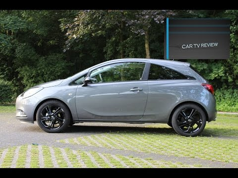Opel Corsa 1.4  2016 detailed review, startup and drive