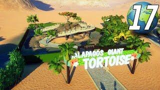 Planet Zoo Franchise - Part 17 - WALKTHROUGH TORTOISE HABITAT