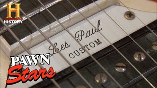 Pawn Stars: TOP 12 RARE & EXPENSIVE GUITARS | History