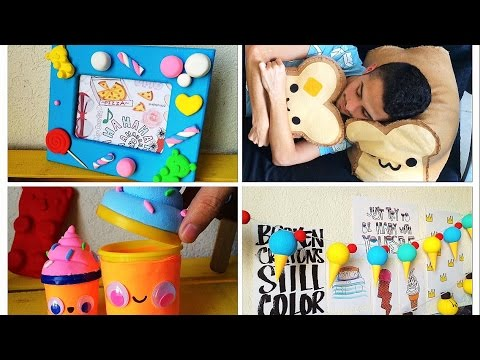 Decora tu habitacion ideas kawaii ft oye kenedy youtube for Manualidades para decorar tu cuarto