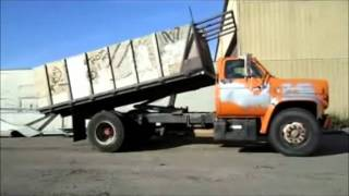 1987 GMC TopKick 7000 dump bed truck for sale | sold at auction November 10, 2011
