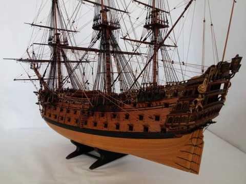 Модель корабля ROYAL WILLIAM (моделист Кудин Андрей) Фото.