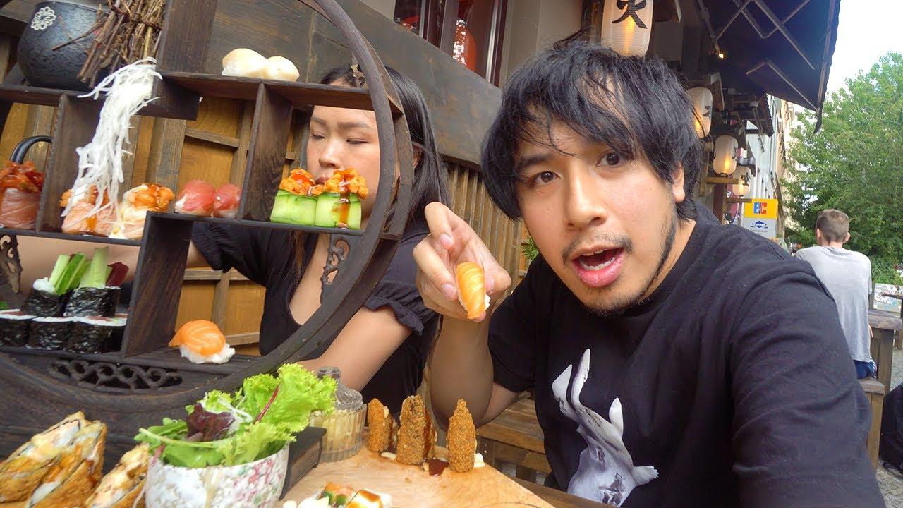 Sushiexperte testet glamourösen Sushi Laden (lohnt sich das)