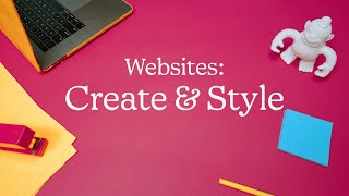 Create and Style Your Website in Mailchimp (March 2021)