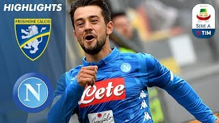Frosinone 0-2 Napoli | Mertens and Younes Help Napoli Ease Past Frosinone | Serie A