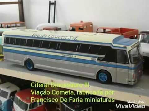 d1cd0d1403 Miniaturas de ônibus gigantes !!!!! - YouTube
